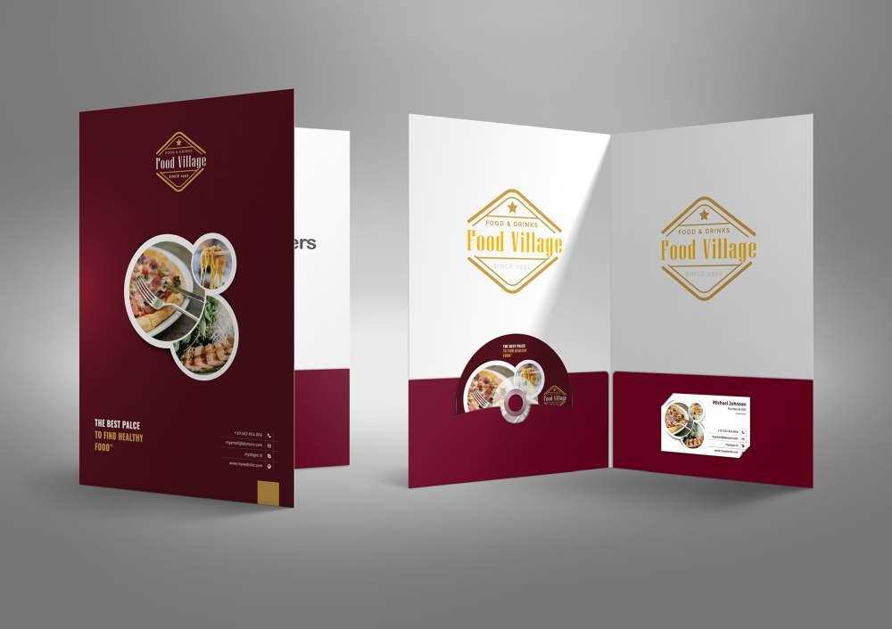 Food village folders