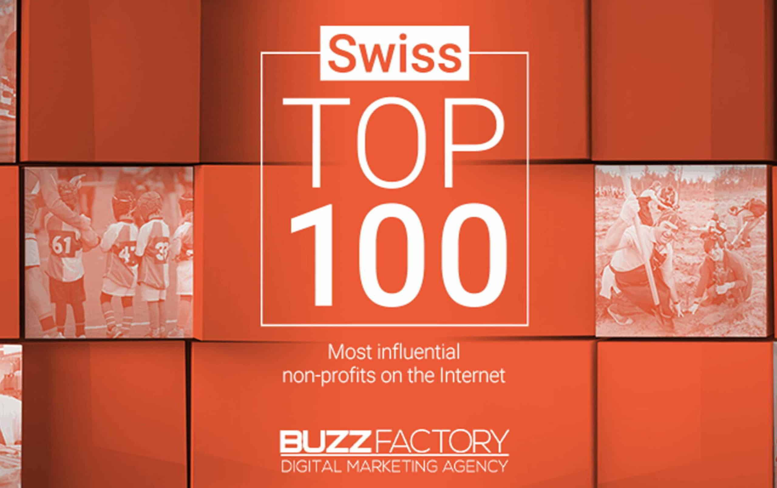 Swiss top 100 most influencial non-profits on the Internet