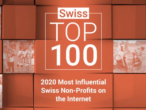 Top 100 des organisations non gouvernementales suisses Les plus influents sur Internet 2020